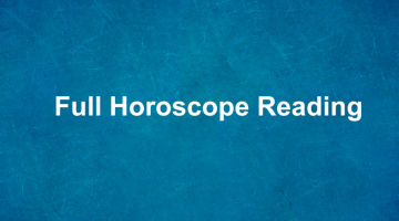 Full Horoscope Reading